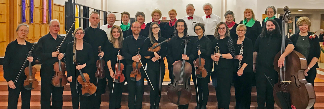 Chamber Orchestra for the 2019 Winter Concert featuring Vivaldi's